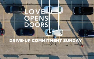 Sunday's Drive-Up Commitment Event – The power of showing up.